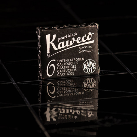 Kaweco - Tintenpatronen, schwarzblau