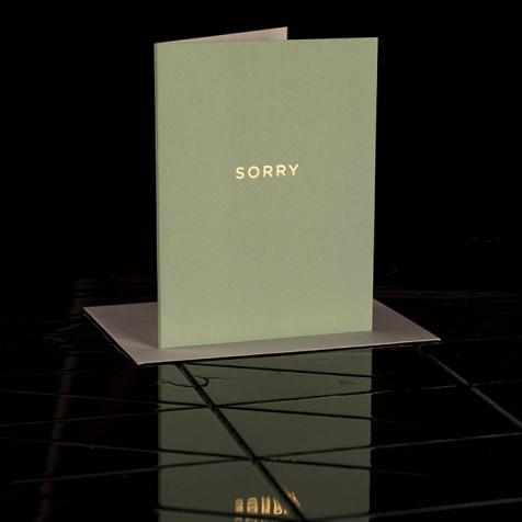 Karte Sorry