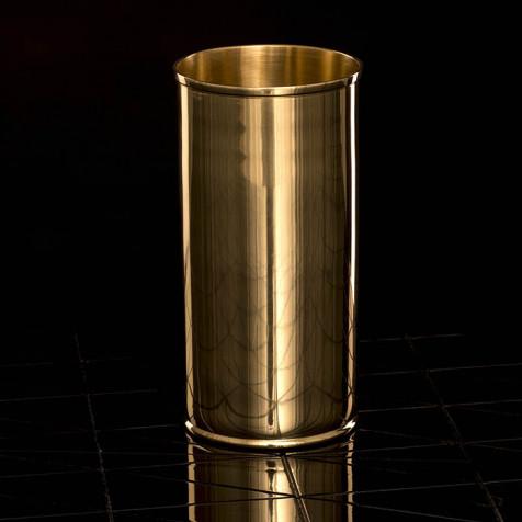 Messingvase H 20 cm