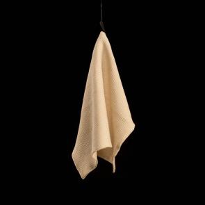 Gestricktes Handtuch, creme