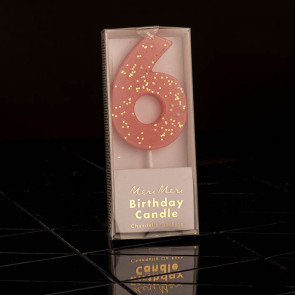 Geburtstagskerze N° 6