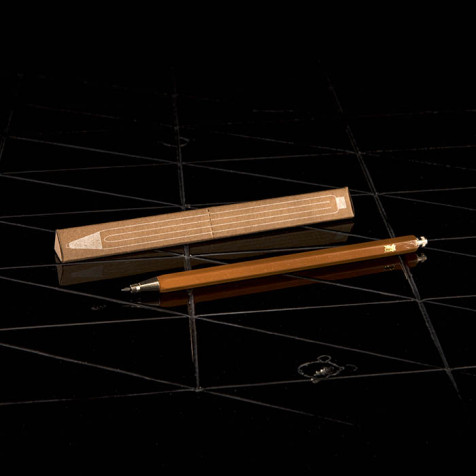 Mechanical pencil, brown