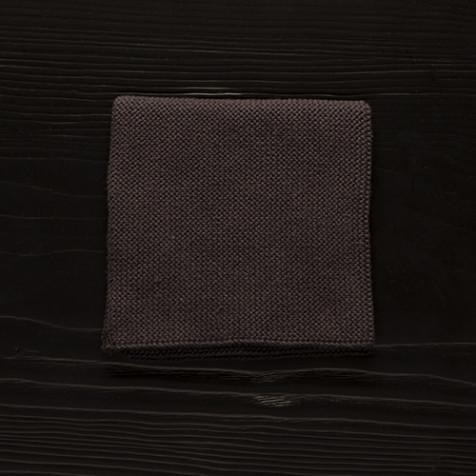 Dishcloth, dark gray