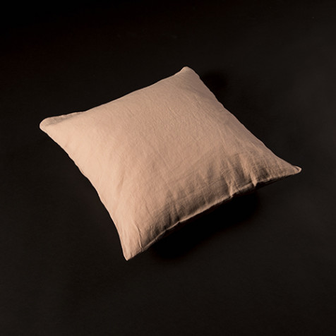 Linen Pillow 50 x 50 cm, nude