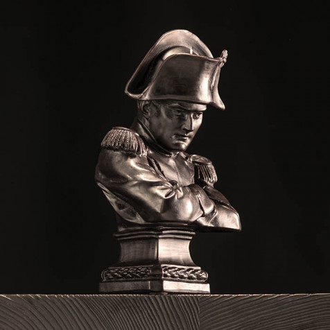 Candle with bust of Napoleon from Cire Trudon
