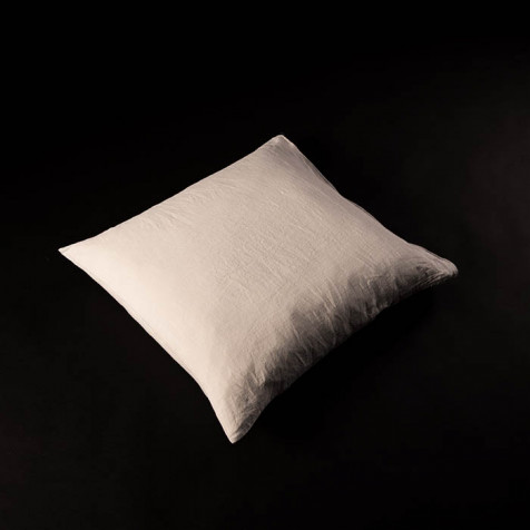 Linen Pillow 65 x 65 cm, chalk
