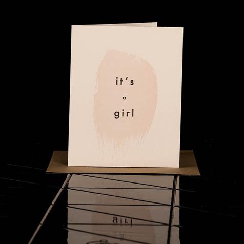 it' a girl
