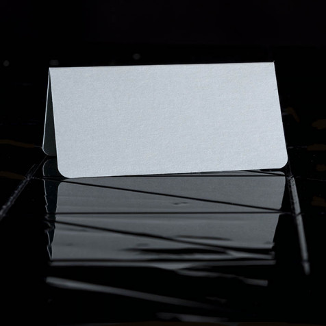 Placecards blue, smooth Paper
