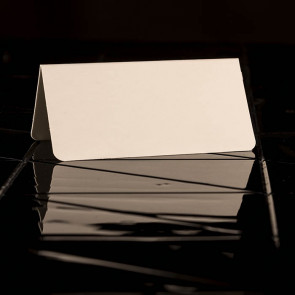 Place Cards white, smooth Paper