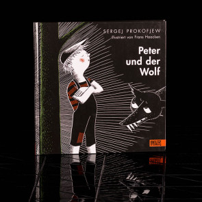 Children s book, Peter und der Wolf