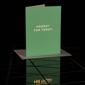 Hooray For Today Card