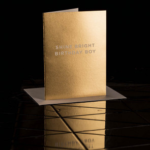 Shine Bright Birthday Boy Card