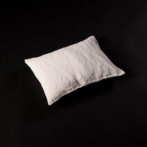 Linen Pillow 30 x 40 cm, chalk