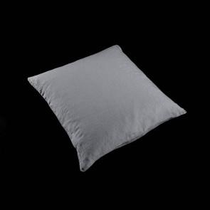 Linen Pillow 50 x 50 cm, cloud grey