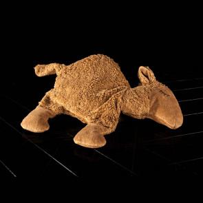 Cherry pit pillow, camel
