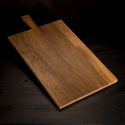 Wooden cutting board, 53.5 x 34.3 cm
