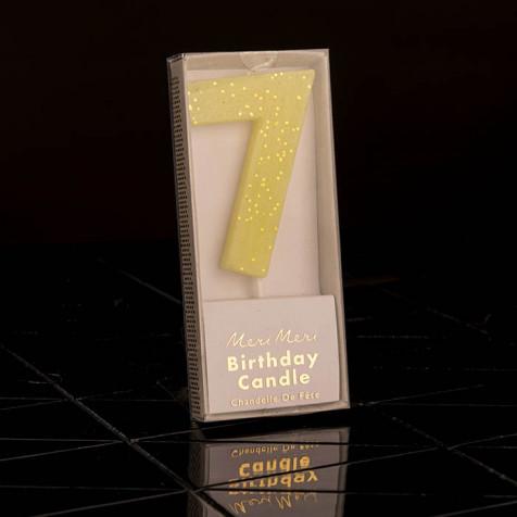 Birthday Candle N° 7