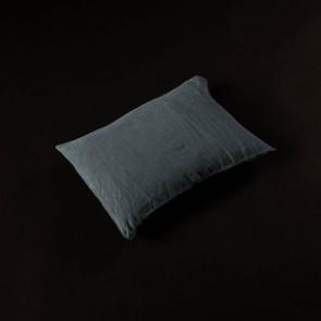 Linen Pillow 30 x 40 cm, duck blue